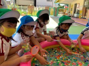 幼稚園の夏祭り!